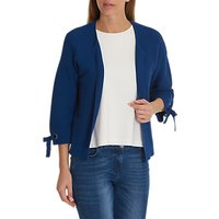 Betty Barclay Fine Ribbed Cardigan, Royal Blue