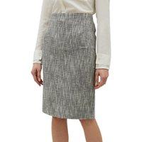 Jaeger Textured Pencil Skirt, Multi