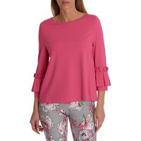 Betty Barclay Pleated Cuff Top, Sweet Raspberry