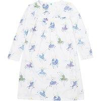 e99f745ada John Lewis & Partners Girls' Floral Fairies Print Nightdress, Cream