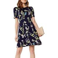 Karen Millen Floral Print Dress, Multi
