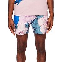Ted Baker Airo Parrot Print Swim Shorts, Pink
