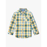 John Lewis & Partners Boys' Ombre Check Shirt