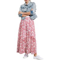 hush Tabitha Maxi Skirt, Wild Flower Hibiscus