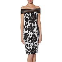 Gina Bacconi Jojo Dress, Black/White