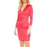 shop for Damsel in a Dress Aya Slinky Wrap Dress, Cherry at Shopo