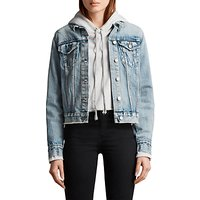 AllSaints Hay Denim Jacket, Indigo Blue