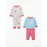 d2689bcad06 John Lewis   Partners Baby GOTS Organic Cotton Woodland Pyjamas