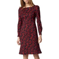 L.K.Bennett Alex Printed Dress, Blue Geranium