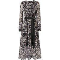 L.K.Bennett Nao Silk Dress, Print Black