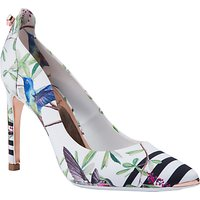 Ted Baker Hallden Stiletto Heel Court Shoes, Multi
