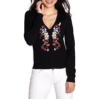 Yumi Floral Embroidered Cardigan, Multi
