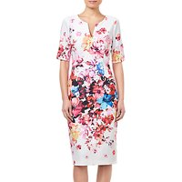 Adrianna Papell Petite Spring Bloom Dress, Ivory/Multi