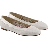 Rainbow Club Cecily Bridesmaids' Shoes, Ivory