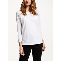 Collection WEEKEND by John Lewis Raglan Sleeve Slub T-Shirt, White