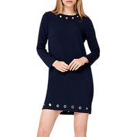 Damsel in a Dress Lotty Eyelet Dress, Navy