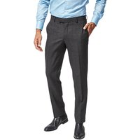 Richard James Mayfair Wool Flannel Suit Trousers, Charcoal