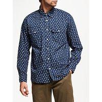 JOHN LEWIS & Co. Hanabi Print Shirt, Indigo