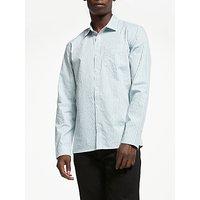 Kin Sage Vertical Stripe Shirt, White
