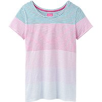 Joules Nessa Jersey T-Shirt, Pink Ombre