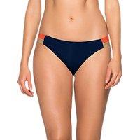 JETS Ultraluxe Colour Block Bikini Briefs, Ink/Multi