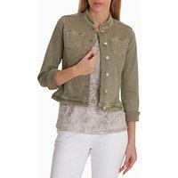 Betty Barclay Denim Jacket, Oak Green