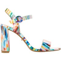 Dune Block Heeled Sandals, Multi