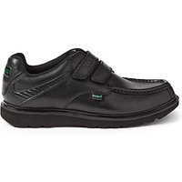 Kickers Children's Kick C Lite Riptape Shoes, Black