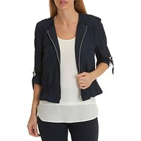 Betty Barclay Zip Jacket, Dark Blue