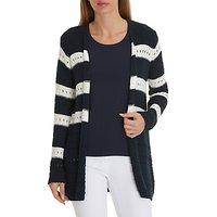 Betty Barclay Longline Knitted Cardigan, Dark Sky