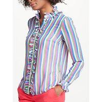 Boden Kathleen Shirt, Multi Stripe