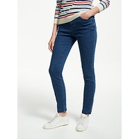 Collection WEEKEND by John Lewis Skinny Twill Jeans, Mid Blue