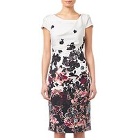 Adrianna Papell Floral Bliss Dress, Ivory/Multi