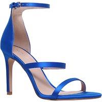 Kurt Geiger Park Lane Stiletto Heel Sandals, Blue
