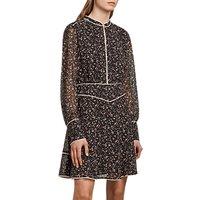 AllSaints Kay Pepper Dress, Black