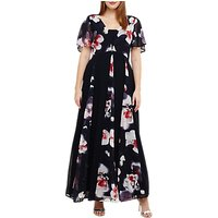 Studio 8 Penelope Maxi Dress, Navy/Multi