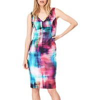 Damsel in a Dress Mixologist Scuba Dress, Multi