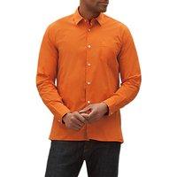 Jaeger Cotton Long Sleeve Shirt, Orange