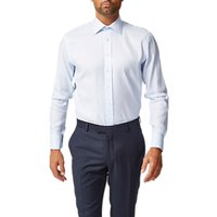 Chester by Chester Barrie Zigzag Tailored Shirt, Blue