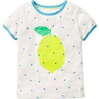 Mini Boden Girls' Bright T-Shirt, White
