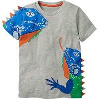 Mini Boden Boys 3D Animal T-Shirt, Grey