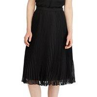Polo Ralph Lauren A-Line Pleated Skirt, Polo Black