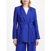 Finery Netley Long Line Jacket, Royal Blue