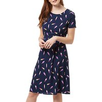 Sugarhill Brighton Jinni Ice Lolly Dress, Navy
