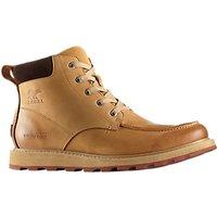 Sorel Madison Moc Toe Waterproof Mens Boots, Buff Crouton