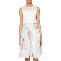 Ted Baker Blossom Full Skirted Dress, Natural