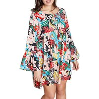Yumi Curves Jungle Tunic Dress, Multi