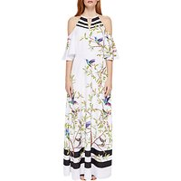 Ted Baker Yarpa Highgrove Print Maxi Dress, White