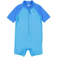 Polarn O. Pyret Baby All-in-One UV Swimsuit, Blue