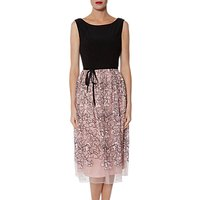 Gina Bacconi Maia Floral Embroidered Dress